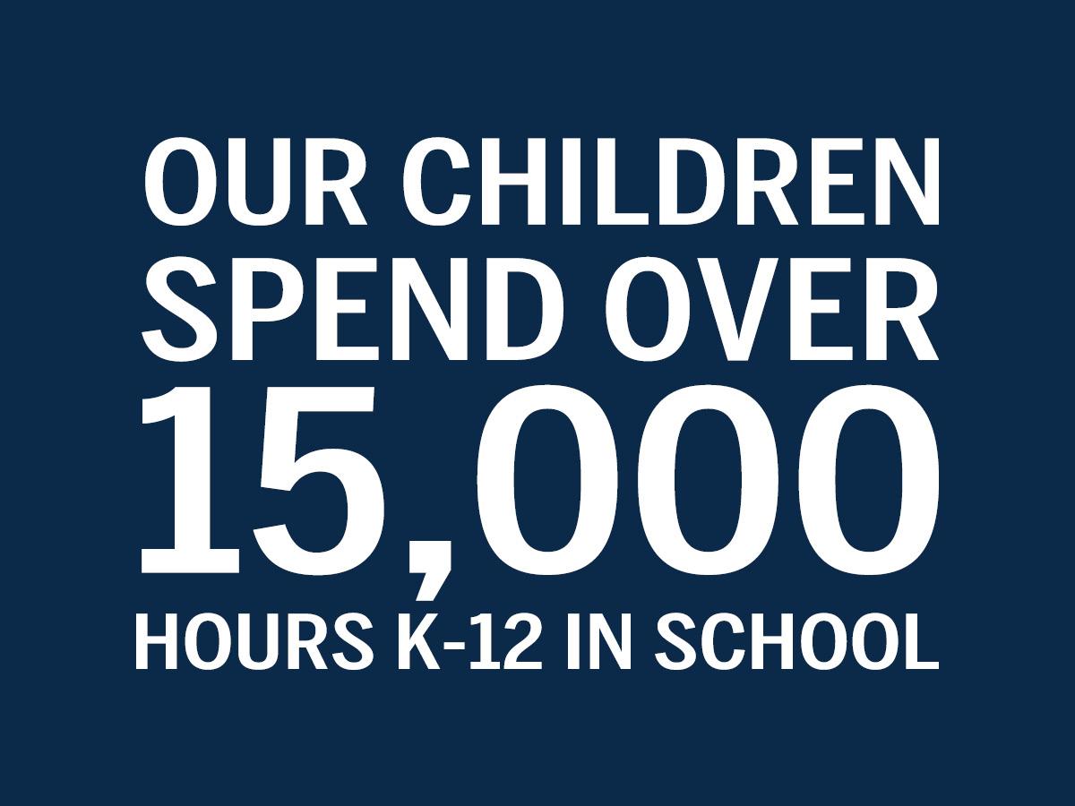 15k Hours In School