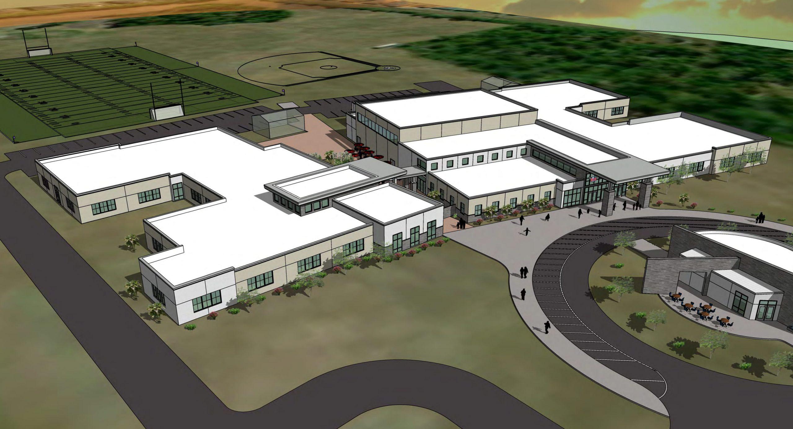New School Campus Layout